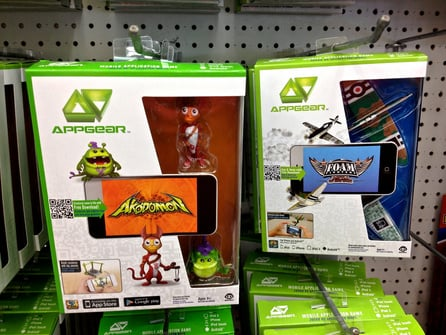 99 CENT ONLY, 2013. Akodomon and  Foam Fighters, iPhone and Android