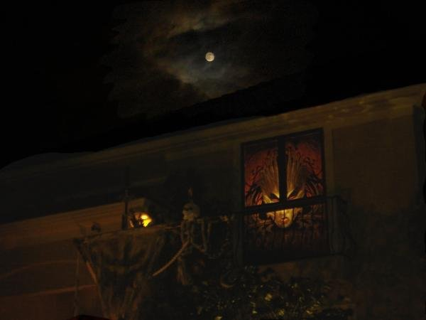 Here is an image of the Terra Queen during a full moon.