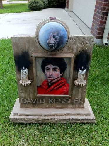 My David Kessler stone from American Werewolf in London.