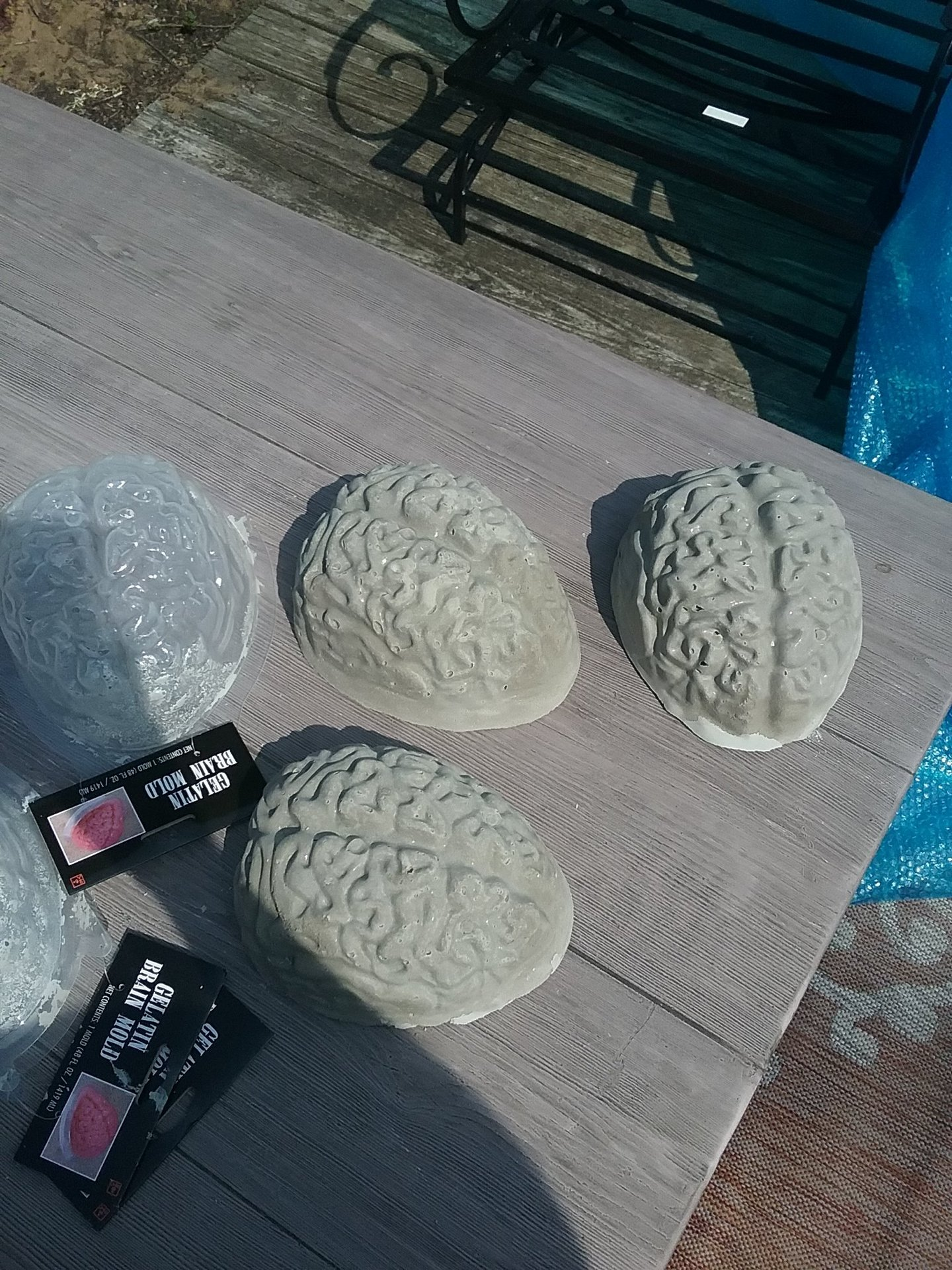 Concrete brains