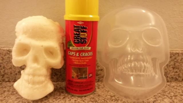 Other: - great stuff foam comparison | Halloween Forum