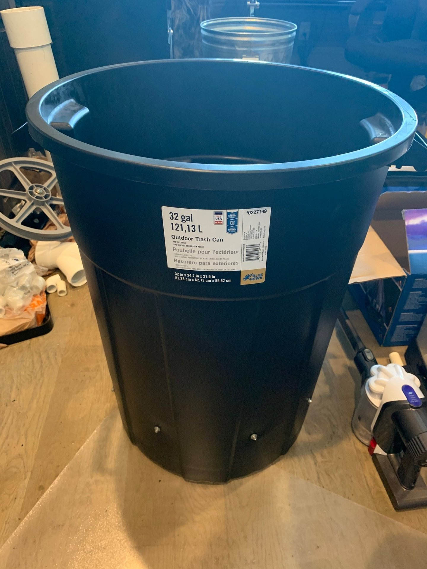 A New Spin On The Vortex Trash Can Fog Chiller Design Halloween Forum