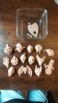 Super Sculpey monster magnets