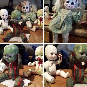 Frosty's Doll Makeover