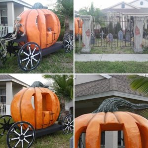 Pumpkin Hearse Progress