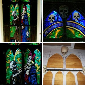 2013 Stained Glass Gothic Window