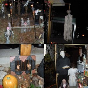 Halloween Visits Mix of Years