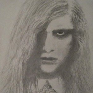 Night of the Living Dead Little Girl Drawing