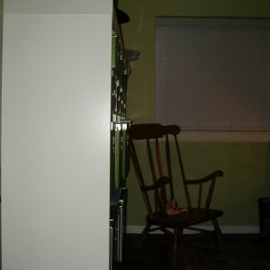 Surprising Haunted Rocking Chair The Motor Was Attached To A Small Machost Co Dining Chair Design Ideas Machostcouk
