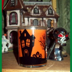 Halloween candle. Creamy Caramel scented.