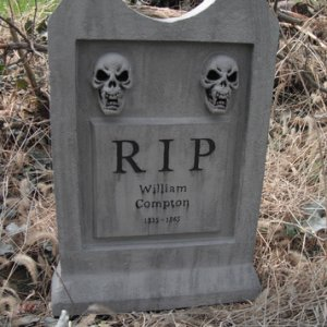 My True Blood tombstone