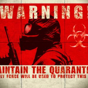 zombie movie 28 days later quarantine wallpaper 1024x768