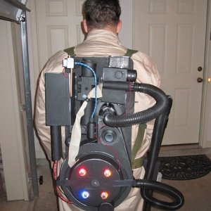 Homemade Proton Pack