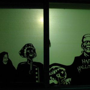 Window with Frankenstein