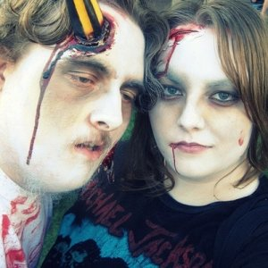 Brother and sister zombies