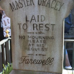 Disney Haunted Mansion Master Gracy