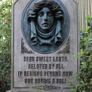 Disney Haunted Mansion Leota