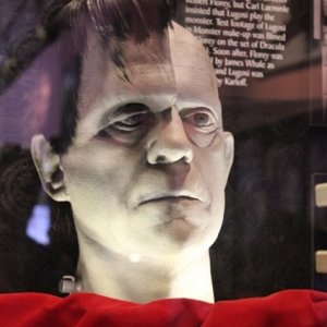 Universal Hollywood Horror make-up studio Frankenstein