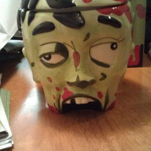 zombie cookie jar!
