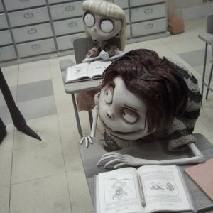 FrankenWeenie Miniature Sets and Props