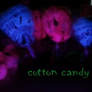 blacklight cotton candy