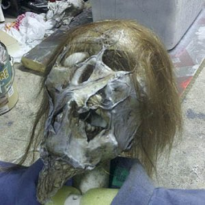 Zombie with real hair.. ain't nothing like the real thing...lol