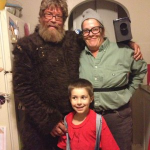 """Squatch"", bigfoot hunter, and Mario"