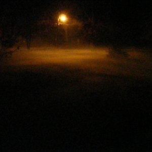 I thought this was a cool picture of our fog machine made a cool low lying fog