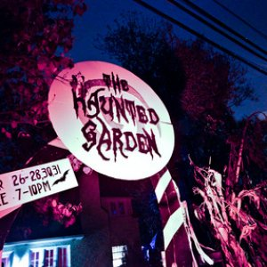 haunted garden entry