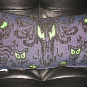 Haunted Mansion - accent pillow side 1