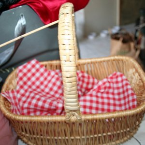 little red riding hood's basket