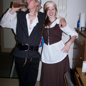 my classic pirate costume