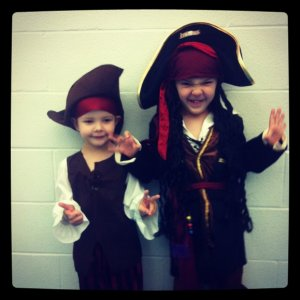 two little pirates!