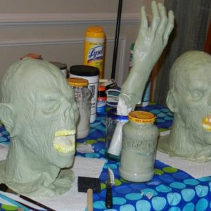 pic 5 painted heads and hand