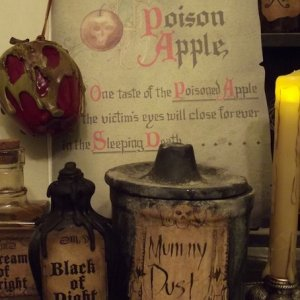 Evil Queen's Spellbook and DIY Poisoned Apple