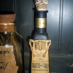 Harry Potter inspired Skele-Grow Potion Bottle