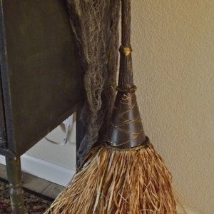 Custom Made Witch's Broom