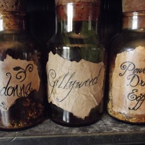 Practical Magic and Harry Potter inspired potions