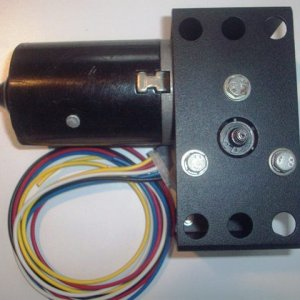 Haunted Parts Wiper Motor Bracket and Wiring Harness
