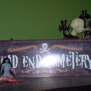 Dead End Cemetery (aka on top of the dresser)