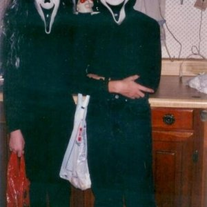 Halloween 1994 I'm on the left.