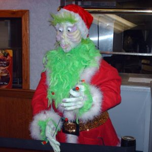 Jim carrey the grinch head prop 069