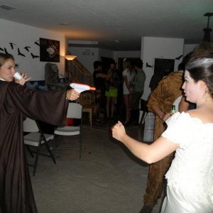 Princess Leia vs bride of frankie