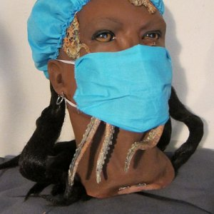 Dental Assistant Mask & Tentacles