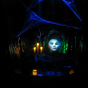 Madame Leota Scene we did last year