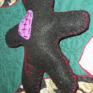008 saki posts a lot of her crafts on the craft page.  this is one of the crafts she made.  I oood and awwwed over it.  thus she knew I would love it,