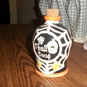 001 we used this potion bottle in the witches room
