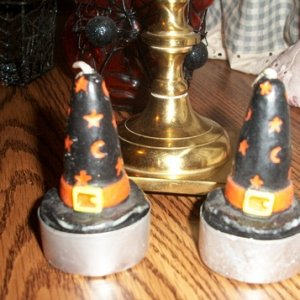 006 these are such cute witches hat candles, who could ever use them