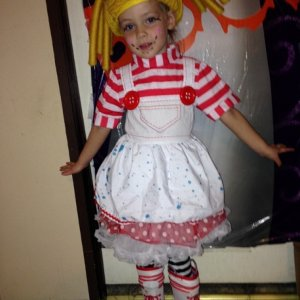 store bought la la loopsy costume