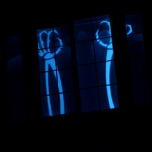 Hallowindows projection from 2008.